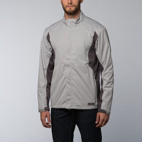 Mobile Warming Balmore Heated Jacket // Silver (L)