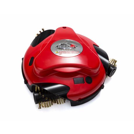 Grillbot + Brass Brush // Red