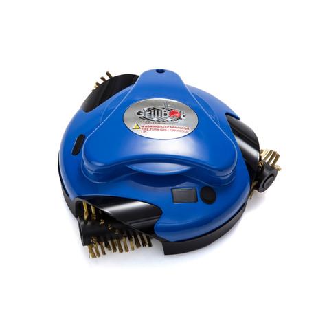 Grillbot + Brass Brush // Blue