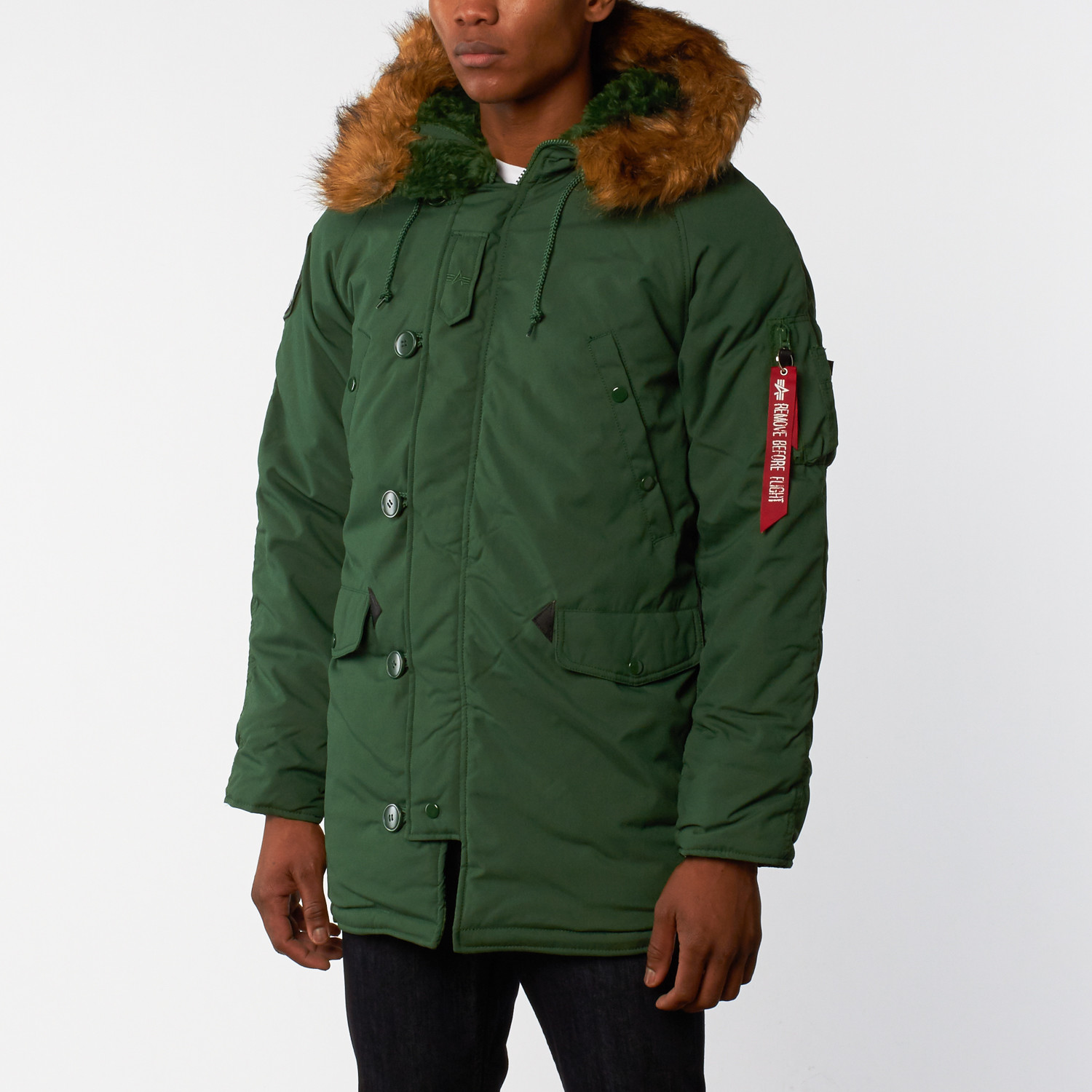 Alpha Industries // Altitude Parka // Forest Green (S) - Masculine ...