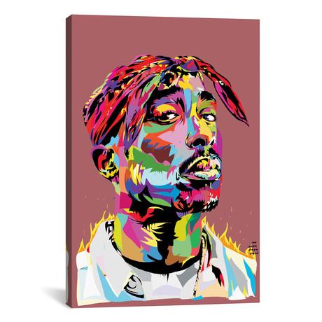 """Tupac (18""""W x 26""""H x 0.75""""D)"""