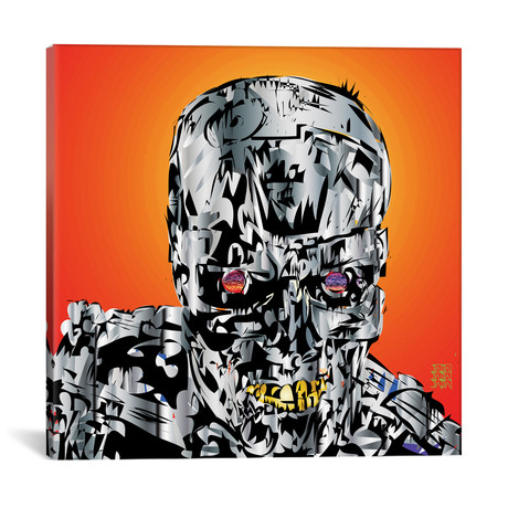 "The Terminator (18""W x 18""H x 0.75""D)"