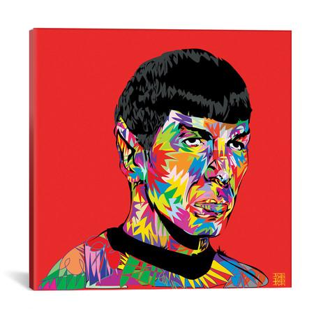 """Spock // Technodrome (18""""W x 18""""H x 0.75""""D)"""