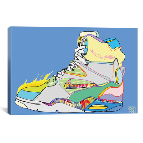 "Nike Air Command Forces (Billy Ho's) (26""W x 18""H x 0.75""D)"