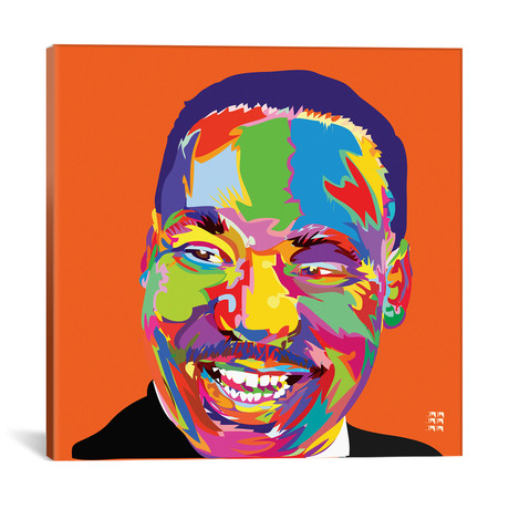 "Martin Luther King Jr. (18""W x 18""H x 0.75""D)"