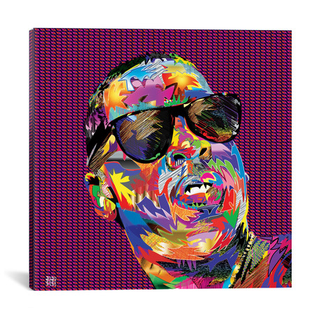 """Jay-Z (18""""W x 18""""H x 0.75""""D)"""
