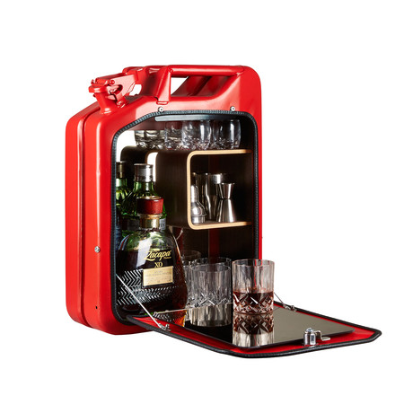 Bar Cabinet // Gas Red