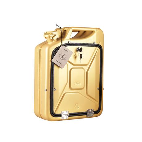 One Copenhagen // Bar Cabinet // Gold (Oak)
