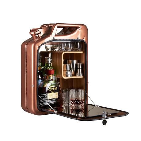 One Copenhagen // Bar Cabinet // Copper (Oak)