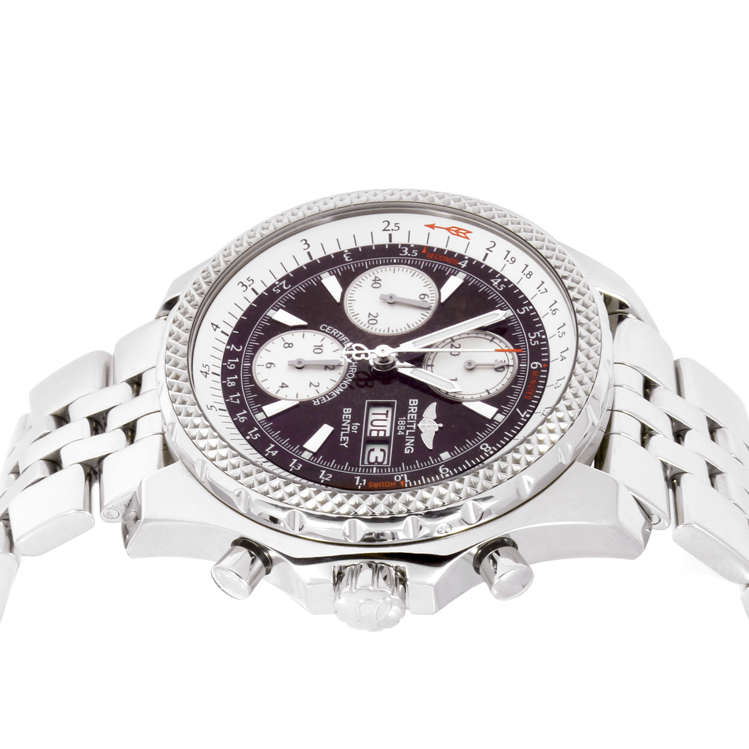 Pre Owned Bentley For Sale: Breitling Bentley Automatic // OB5484 // Pre-Owned