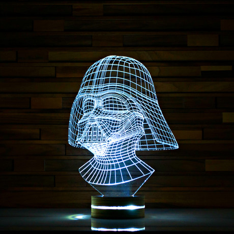 Darth vader star wars 3d led lamp artisticlamps for What is touchofmodern