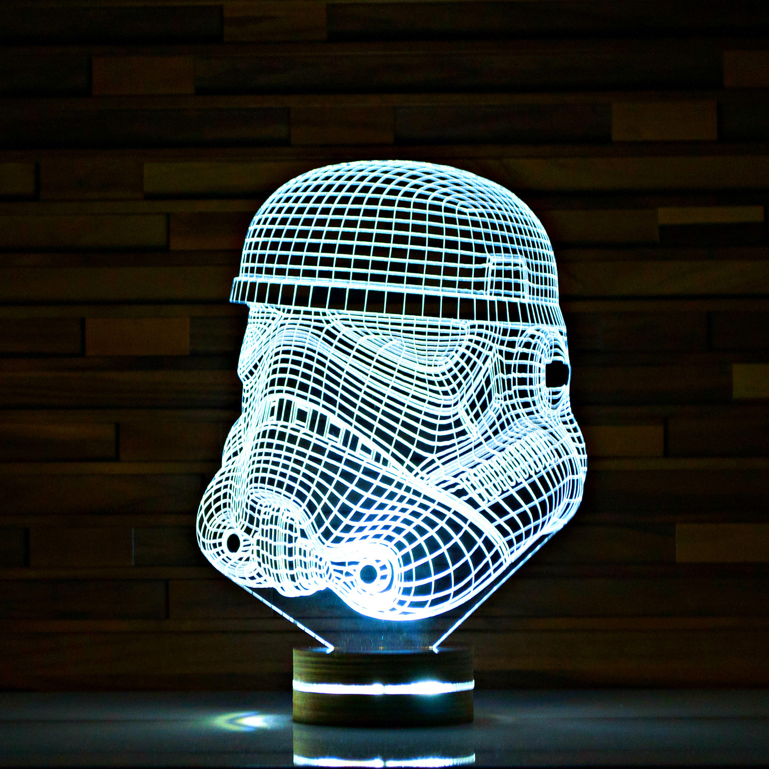 Stormtrooper Star Wars 3d Led Lamp Artisticlamps Touch Of Modern
