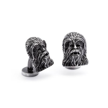 Chewbacca Cufflink // Silver