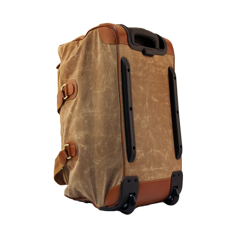 Canvas Rolling Luggage Mc Luggage