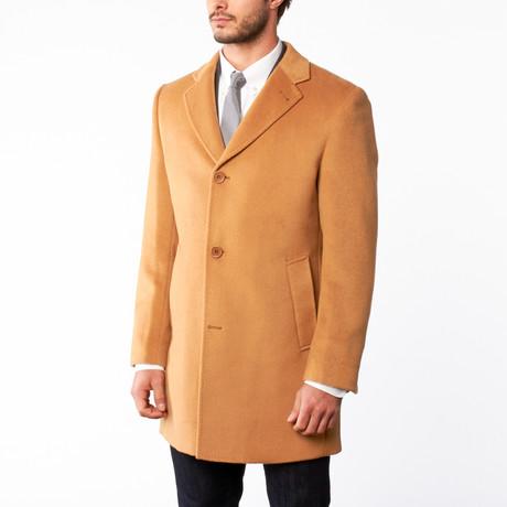 Bella Vita // Wool Button Up Overcoat // Camel (US: 36R)