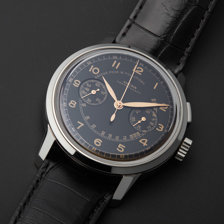50s President Chronograph Mechanical // 570157.315L/BK