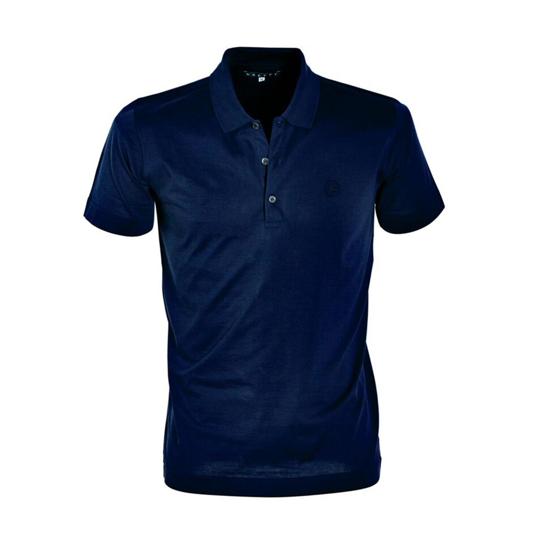 Jersey Knit Polo Shirt Navy S Dalvey Touch Of Modern