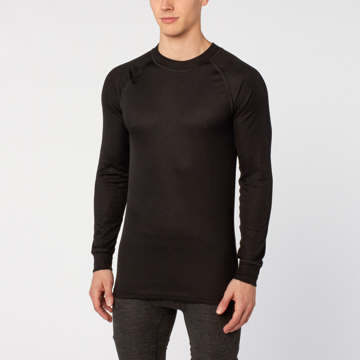 Thermowave Long Sleeve Shirt Black S Thermowave