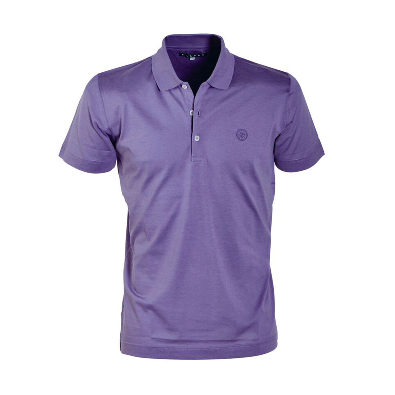 Jersey Knit Polo Shirt Violet S Dalvey Touch Of