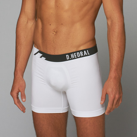 Seamless Trunk // White + Anthracite (S)