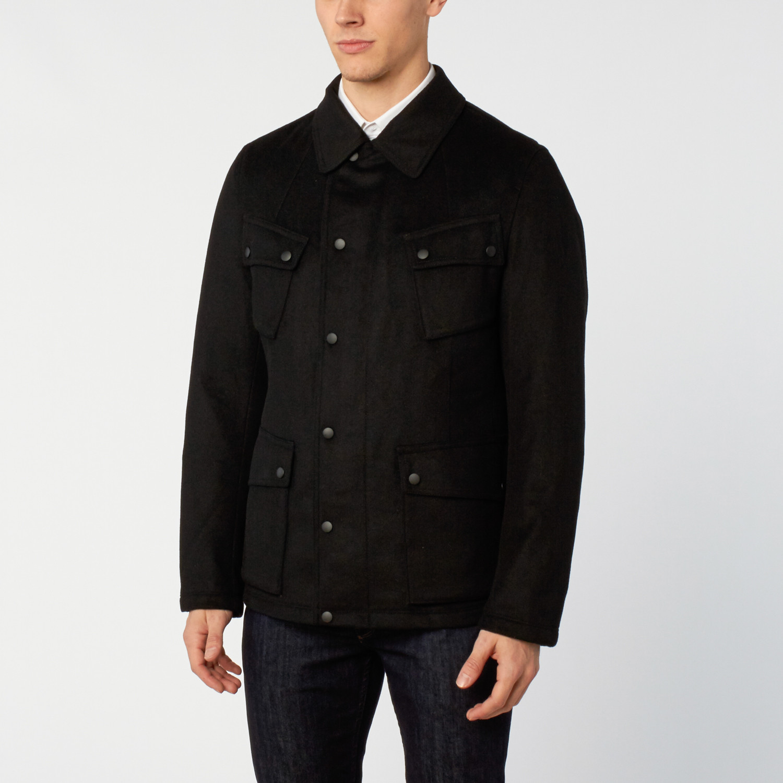 Burton Waterproof Wool Jacket // Midnight (S)