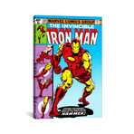 "Marvel Comic Book Iron Man Issue Cover #126 (18""W x 26""H x 0.75""D)"