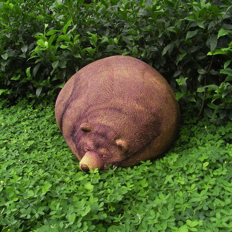 Sleeping Grizzly Bear // Beanbag
