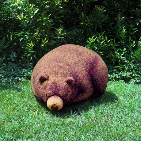 Sleeping Grizzly Cub // Beanbag