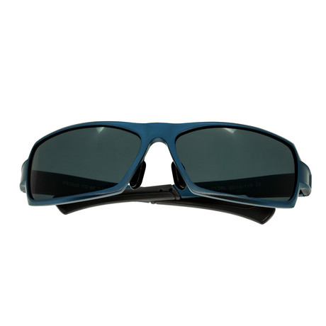 Cosmos Sunglasses (Black Frame // Red-Yellow Lens)