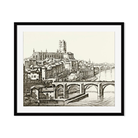 Vintage Architecture Framed Art Prints Touch Of Modern