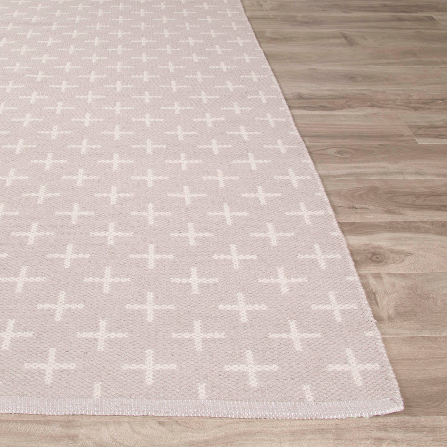 Damask Flatweave Rug: Flatweave Tribal Pattern Area Rug // Neutral (3' X 5