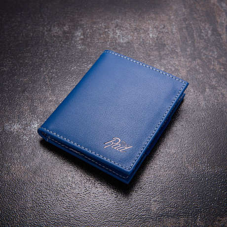 Minimalist Wallet // Blue
