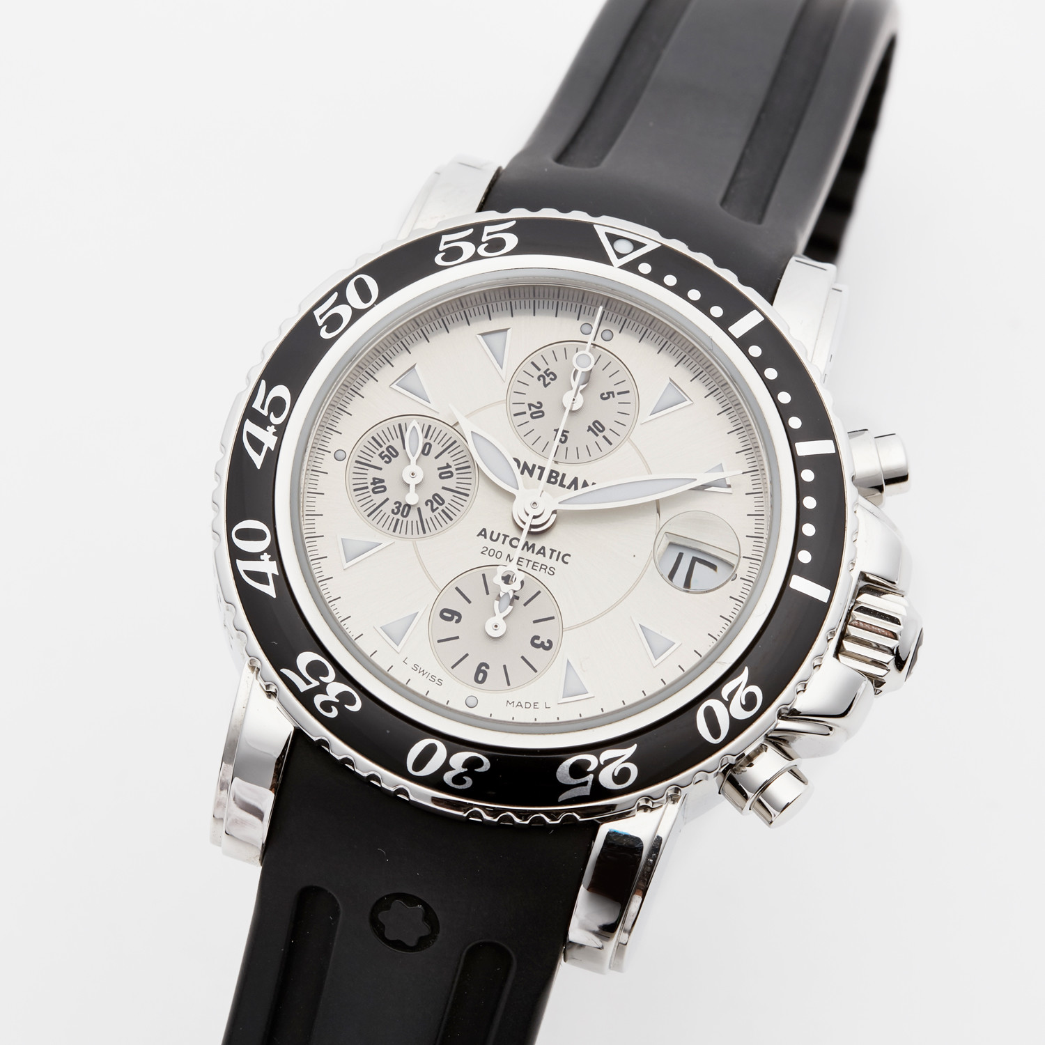 c9cd5a34958ef Montblanc Sport Chronograph Automatic // 7034 // Store Display ...