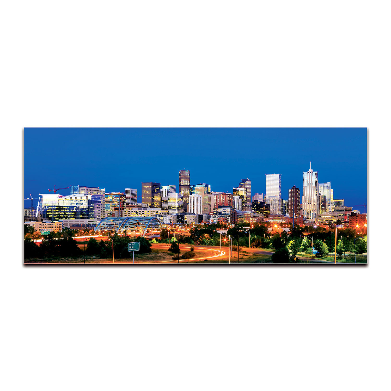 Denver Skyline (Reverse-Printed Acrylic)