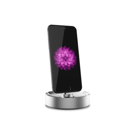 BEVL iPhone Dock // Silver