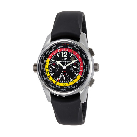 "Girard Perregaux WW.TC World Time ""Berlin"" Chronograph Automatic // 49800-22-654-BA6A // Pre-Owned"