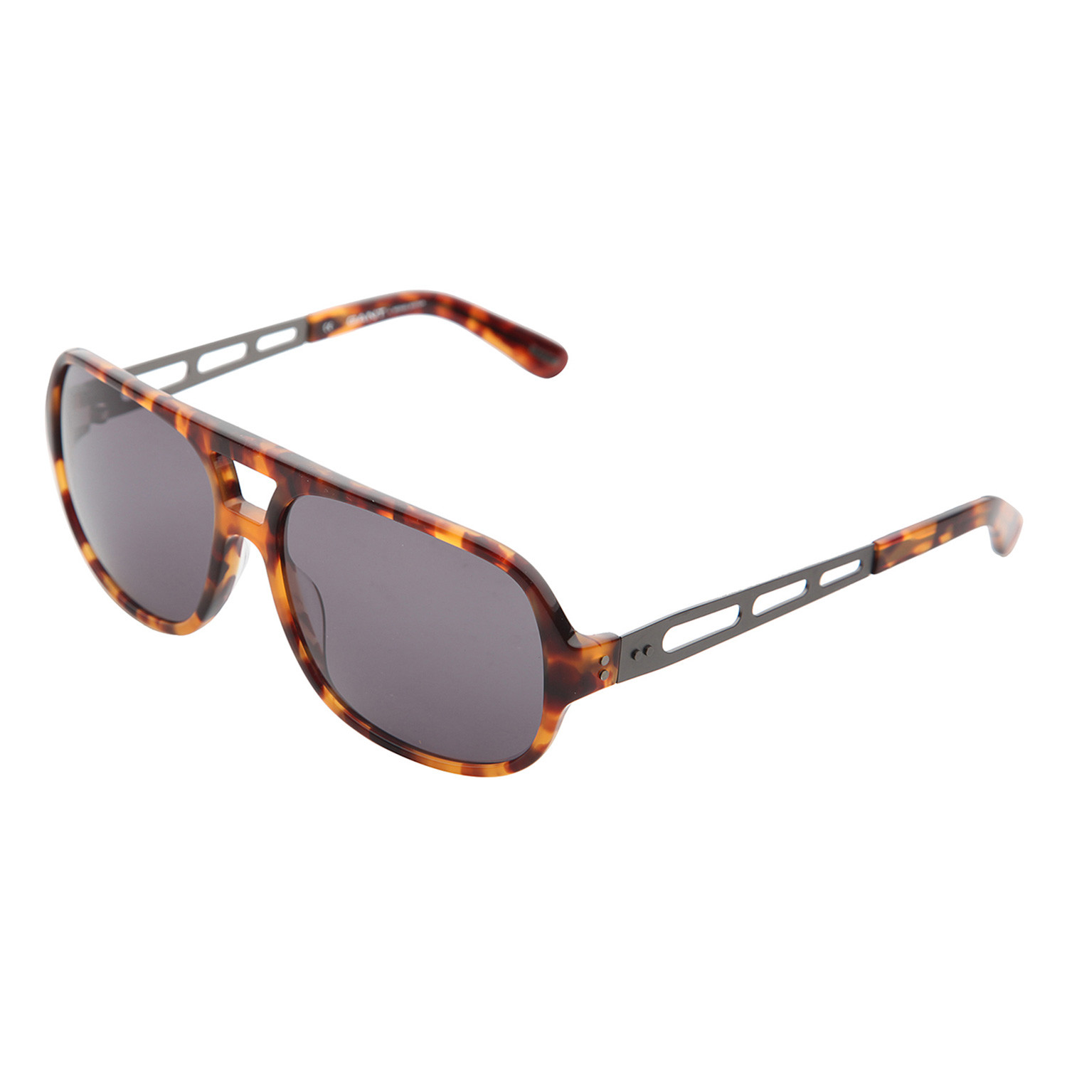 9854449446 GANT    Bridged Aviator Sunglasses    Thick Tortoiseshell ...