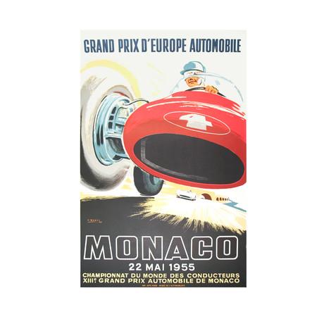 Monaco Grand Prix 1955 // Jean Ramel