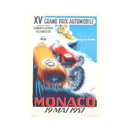 Monaco Grand Prix 1957 // B. Minne