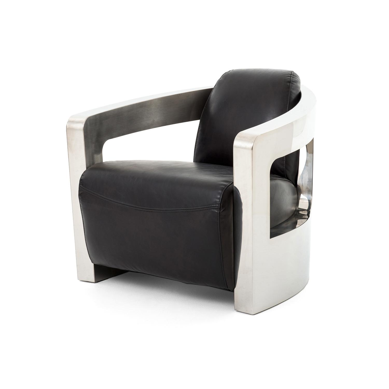 Merveilleux Sinclair Club Chair // Metal Arms