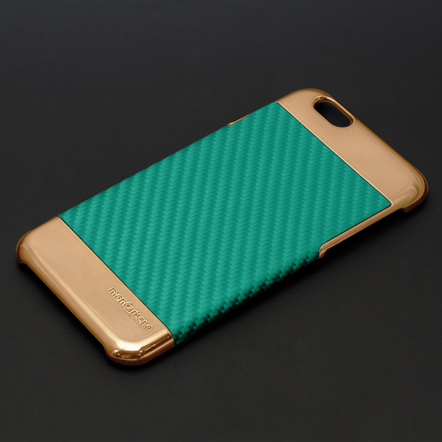 curve iphone case rose gold grace blue iphone 6s 6 moncarbone touch of modern. Black Bedroom Furniture Sets. Home Design Ideas