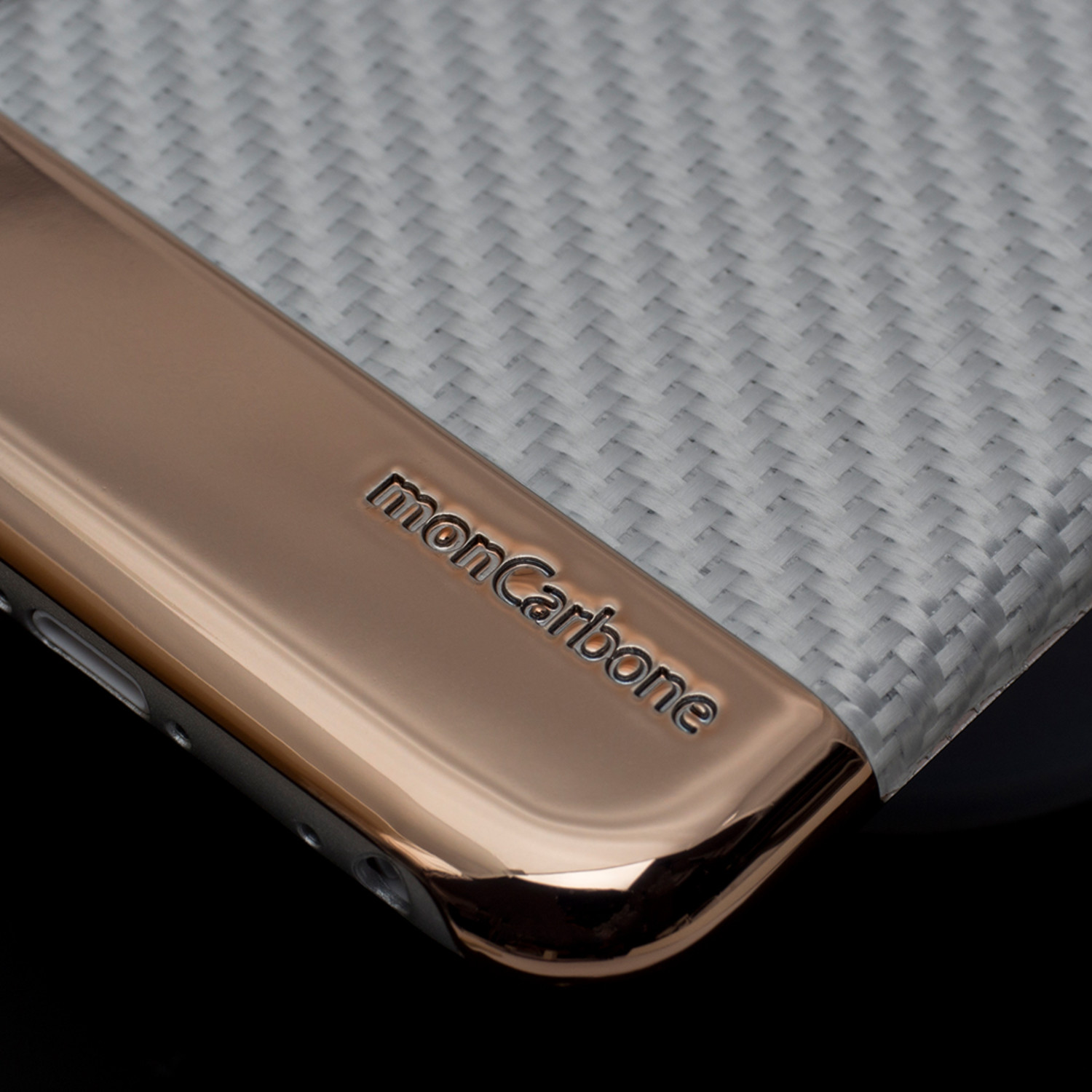 curve iphone 6 6s case rose gold white moncarbone touch of modern. Black Bedroom Furniture Sets. Home Design Ideas