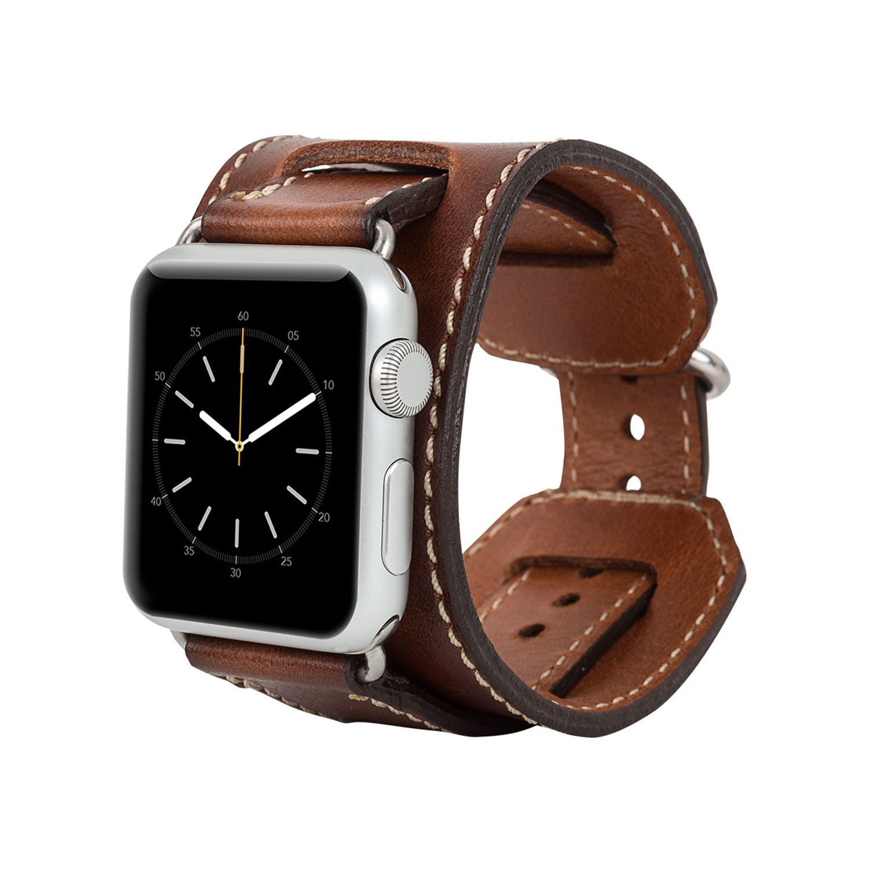 Watch-Cuff Apple Watch Band // 42mm (Rustic Brown ...