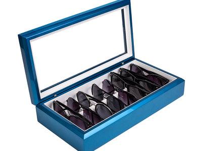 Photo of OYOBox Luxury Tech + Eyewear Organizers OYOBox // Metallic Blue by Touch Of Modern