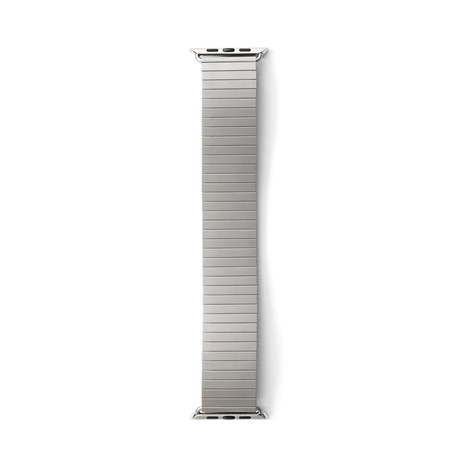 Apple Watchband // 42mm // Silver (Extra Small/Small)