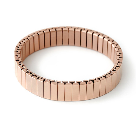 Stacking Apple Watch Bracelet // Shiny Rose Gold (Small/Medium)