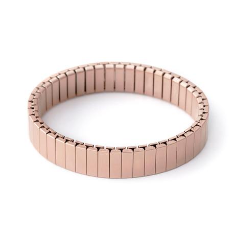 Stacking Apple Watch Bracelet // Rose Gold Satin