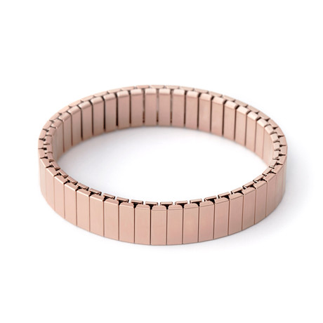 Stacking Apple Watch Bracelet // Rose Gold Satin (Small/Medium)