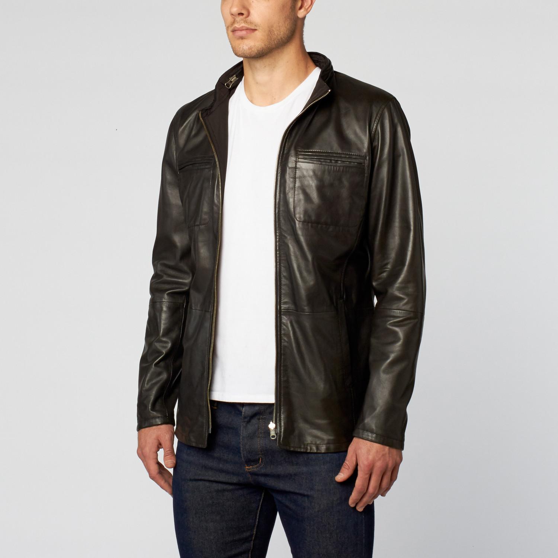 Hudson leather jacket
