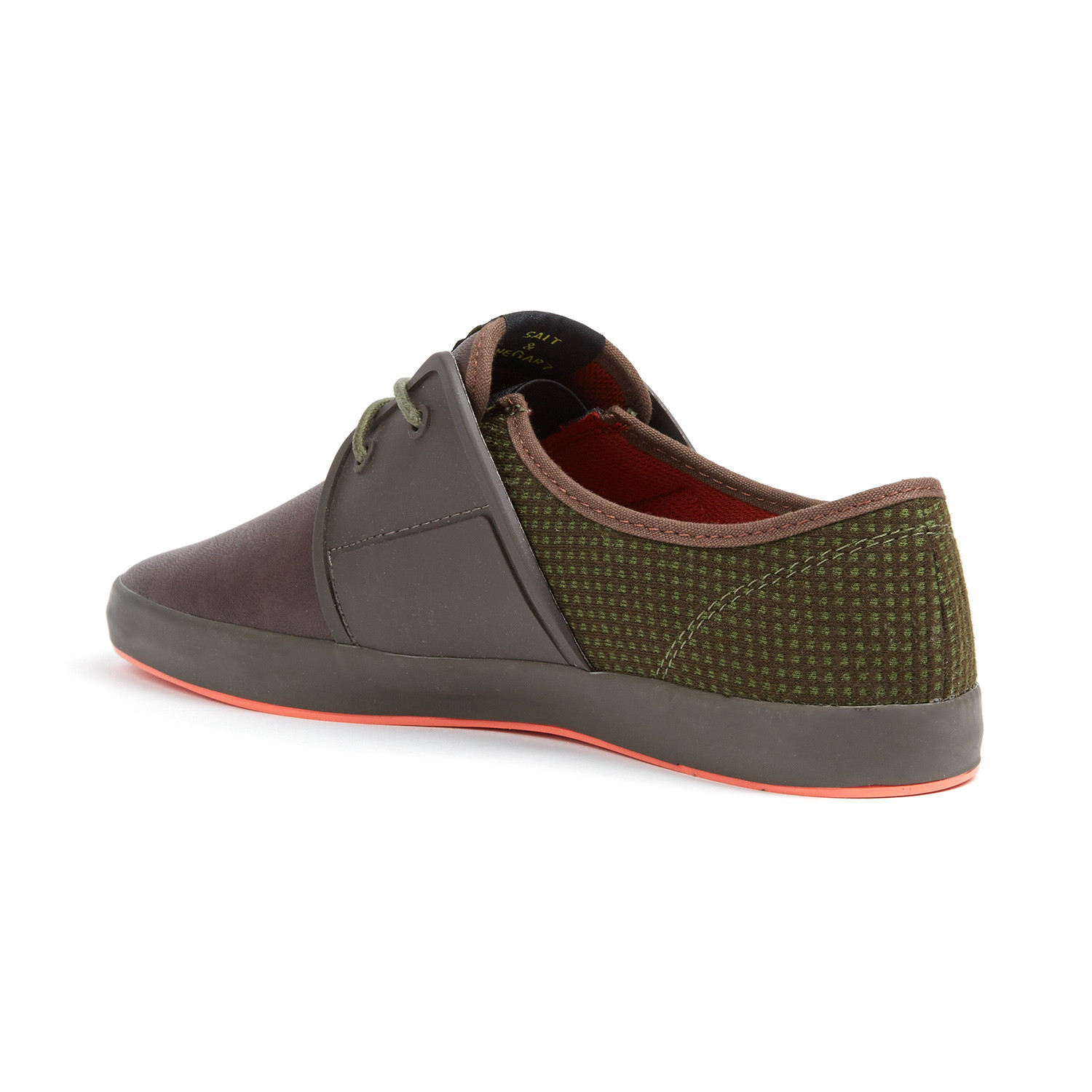 Fish n chips spam 2 sneaker olive brown euro 41 for Shoes with fish in them